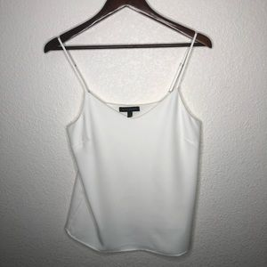 Banana Republic Lined White Dress Tank Top | Small